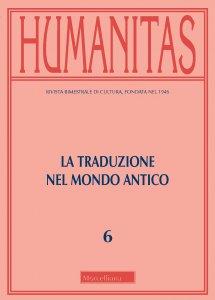 Copertina di 'Humanitas (2019)'