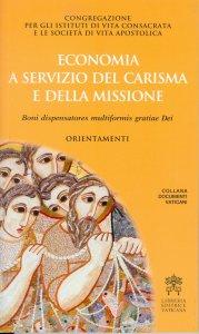 Copertina di 'Economia a servizio del carisma e della missione'
