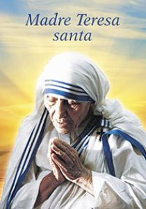 Copertina di 'Madre Teresa Santa'