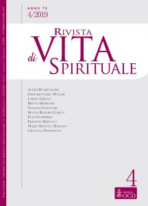 Copertina di 'Rivista di Vita Spirituale. 4/2019'