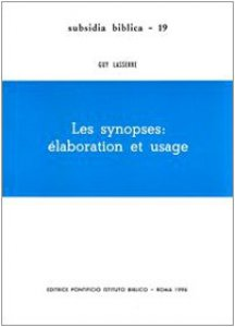 Copertina di 'Les synopses: élaboration et usage'