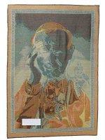 """Immagine di 'Arazzo sacro """"San Giovanni Paolo II sorridente"""" - dimensioni 65x46 cm'"""