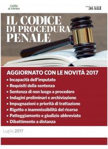 Copertina di 'Il codice di procedura penale'