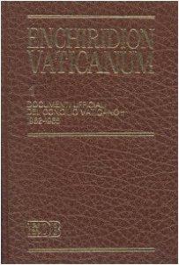 Copertina di 'Enchiridion Vaticanum. 1'