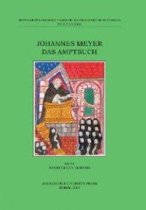 Copertina di 'Johannes Meyer. Das Amptbuch.'