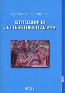 Copertina di 'Istituzioni di letteratura italiana'