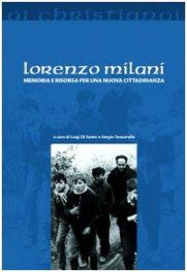 Copertina di 'Lorenzo Milani. Memoria e risorsa per una nuova cittadinanza'