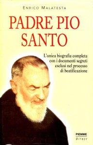 Copertina di 'Padre Pio Santo'