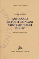 Antologia dei poeti catalani contemporanei (1845-1925)