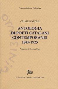 Copertina di 'Antologia dei poeti catalani contemporanei (1845-1925)'