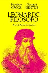 Copertina di 'Leonardo filosofo'