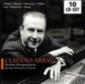 Serious wizard of sound. Piano - Claudio Arrau
