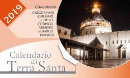Copertina di 'Calendario di Terra Santa 2019. Da tavolo'