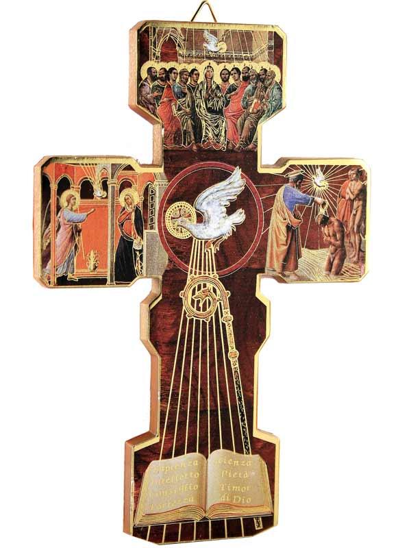Croce 39 cresima 39 in legno sintetico italia bomboniere for Oggetti usati in regalo