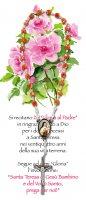 """Immagine di 'Libretto Santa Teresa """"Novena delle Rose"""" con coroncina - italiano'"""