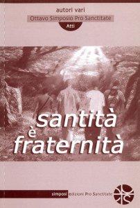 Copertina di 'Santità è fraternità'