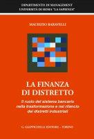 La finanza di distretto - Maurizio Baravelli