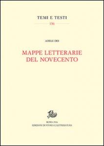 Copertina di 'Mappe letterarie del Novecento'