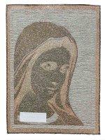 """Immagine di 'Arazzo """"Madonna di Medjugorje"""" - dimensioni 42x32 cm'"""