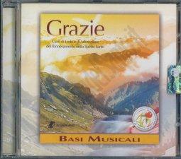 Copertina di 'Grazie - basi musicali'