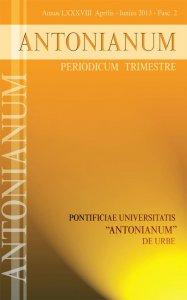 Copertina di 'Antonianum n. 2-2013'