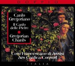 Copertina di 'Canto Gregoriano - Il canto della Pietre'