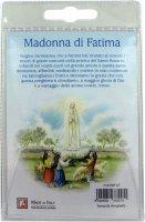Immagine di 'Portachiavi Madonna di Fatima con preghiera in italiano'