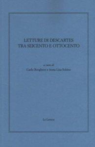 Copertina di 'Letture di Descartes tra Seicento e Ottocento'