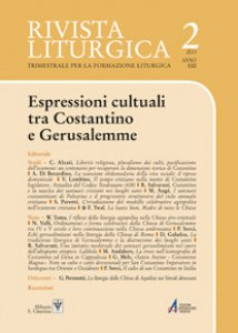 Copertina di 'Echi gerosolimitani nella liturgia della Chiesa di Roma'