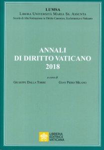 Copertina di 'Annali di diritto vaticano 2018'