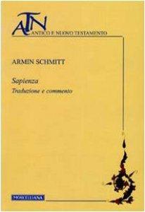 Copertina di 'Sapienza. Traduzione e commento'