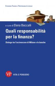 Copertina di 'Quali responsabilità per la finanza?'