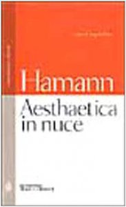 Copertina di 'Aesthaetica in nuce. Testo tedesco a fronte'