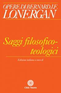 Copertina di 'Saggi filosofico-teologici'