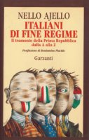 Italiani di fine regime - Ajello Nello