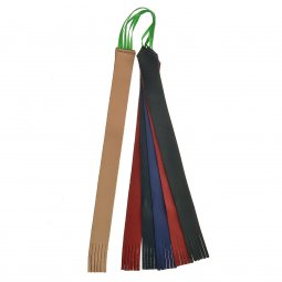 Copertina di 'Segnalibro 5 nistole in pelle e una in cuoio per messale o lezionario - dimensioni 30x2,5 cm'
