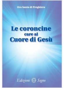 Copertina di 'Le coroncine care al Cuore di Gesù'