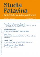Studia Patavina 2017/1