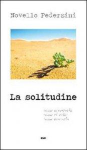 Copertina di 'La solitudine'