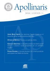 Copertina di 'Las relaciones Papado-Imperio en el desarrollo de las Fuentes canónicas (ss. V-VIII)'
