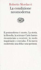 Copertina di 'La condizione neomoderna'