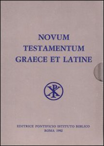 Copertina di 'Novum testamentum graece et latine'