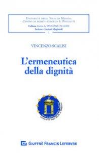 Copertina di 'L' ermeneutica della dignità'