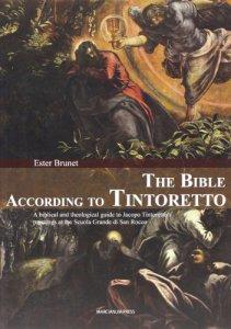 Copertina di 'The Bible according to Tintoretto'