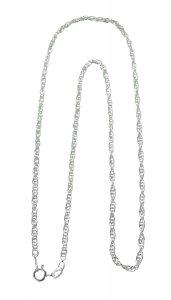 Copertina di 'Catena corda in argento 925 cm 40'