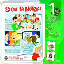 Copertina di 'Segui la notizia! 1. Il cammino di fede per i bambini 6/8 anni'
