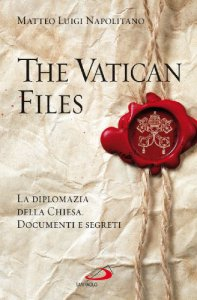 Copertina di 'The Vatican files'
