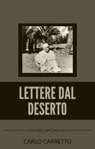 Copertina di 'Lettere dal deserto'