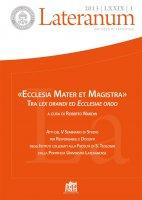 L'approccio codiciale alla questione ecumenica: problemi e prospettive - Carlo Fabris
