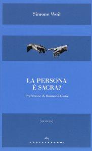 Copertina di 'La persona è sacra?'